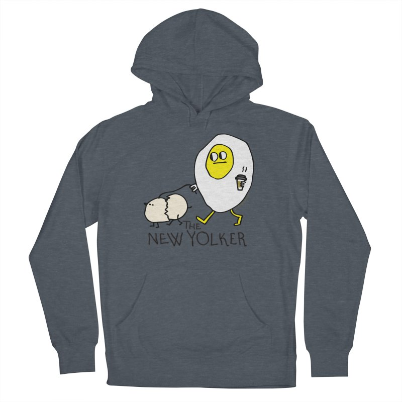 The New Yolker Men's French Terry Pullover Hoody by Jon Burgerman's Artist Shop