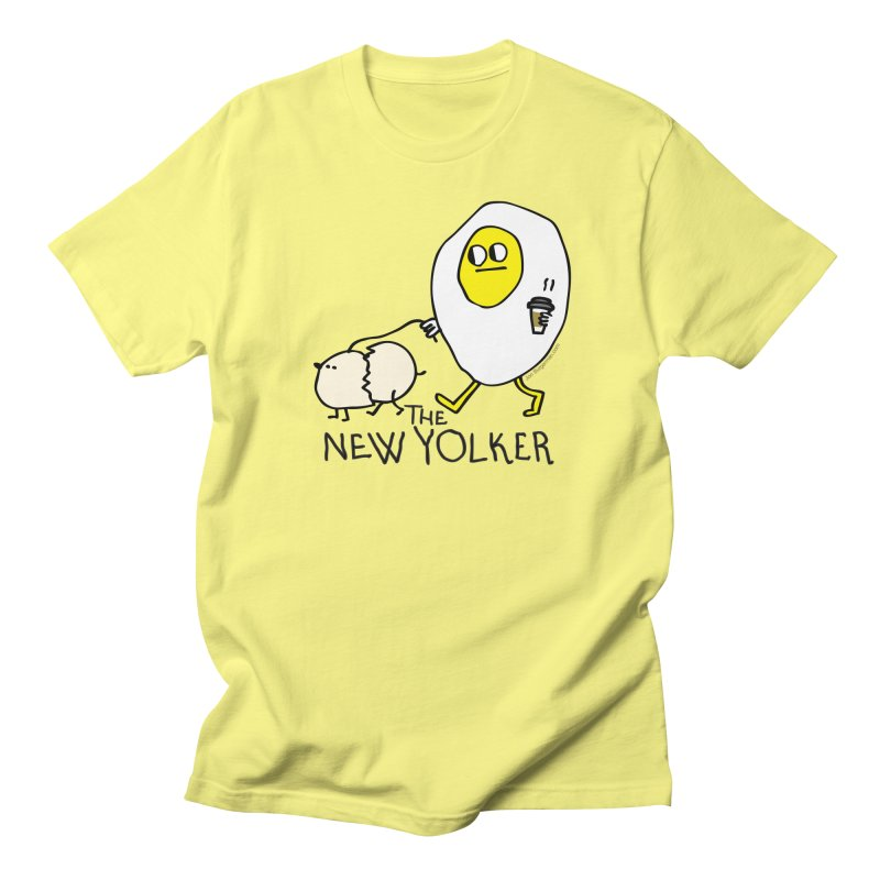 The New Yolker Men's T-Shirt by Jon Burgerman's Artist Shop