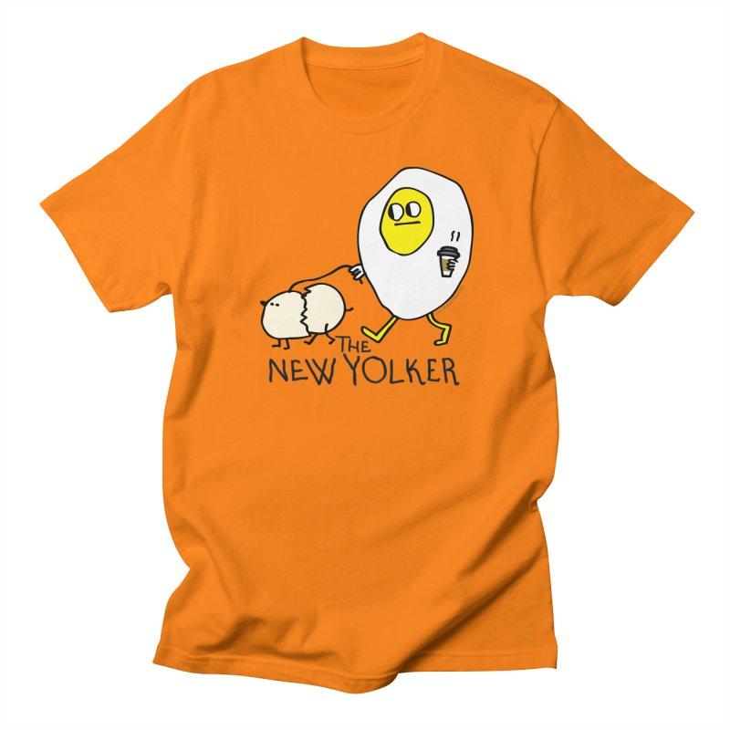 The New Yolker Men's Regular T-Shirt by Jon Burgerman's Artist Shop