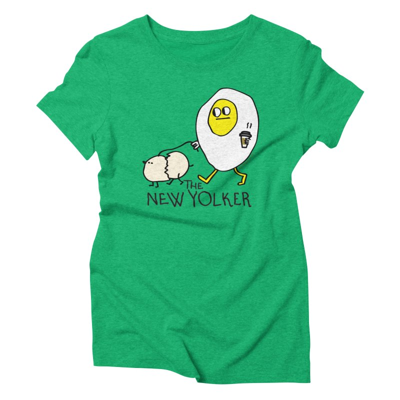 The New Yolker Women's Triblend T-Shirt by Jon Burgerman's Artist Shop