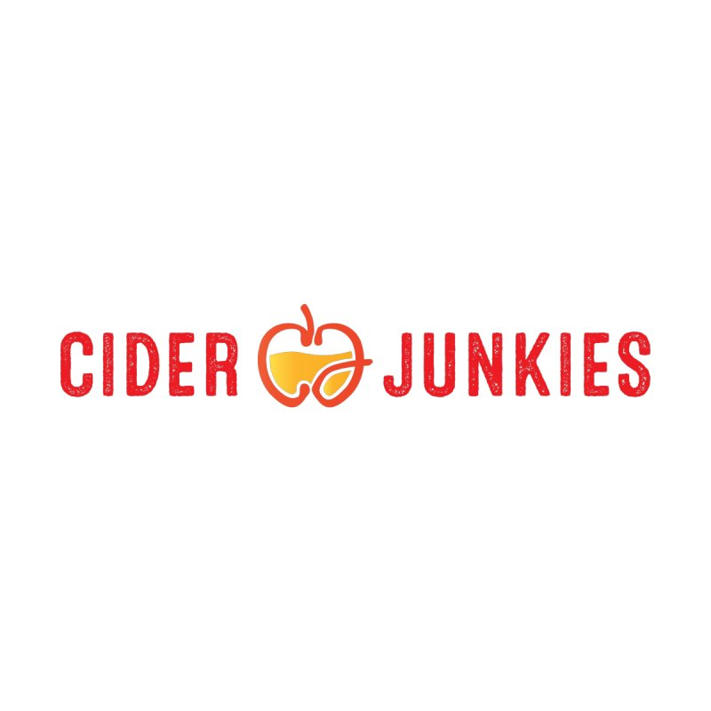 #ciderjunkies logo by burgers on t-shirts.