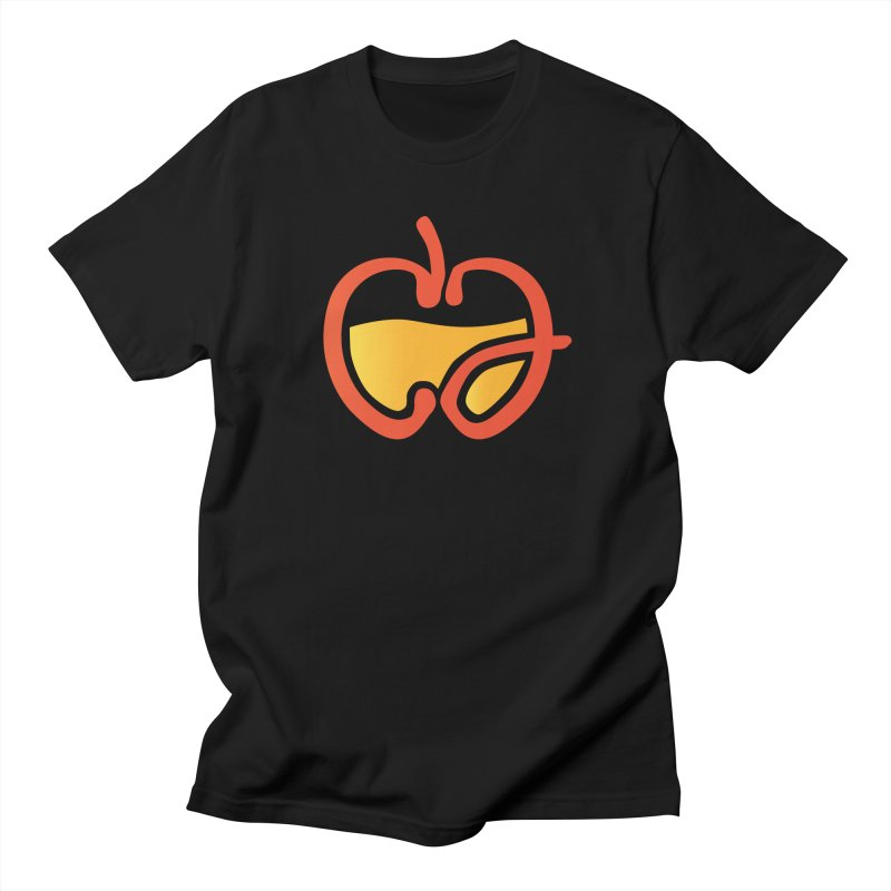 #ciderjunkies apple logo   by burgers on t-shirts.