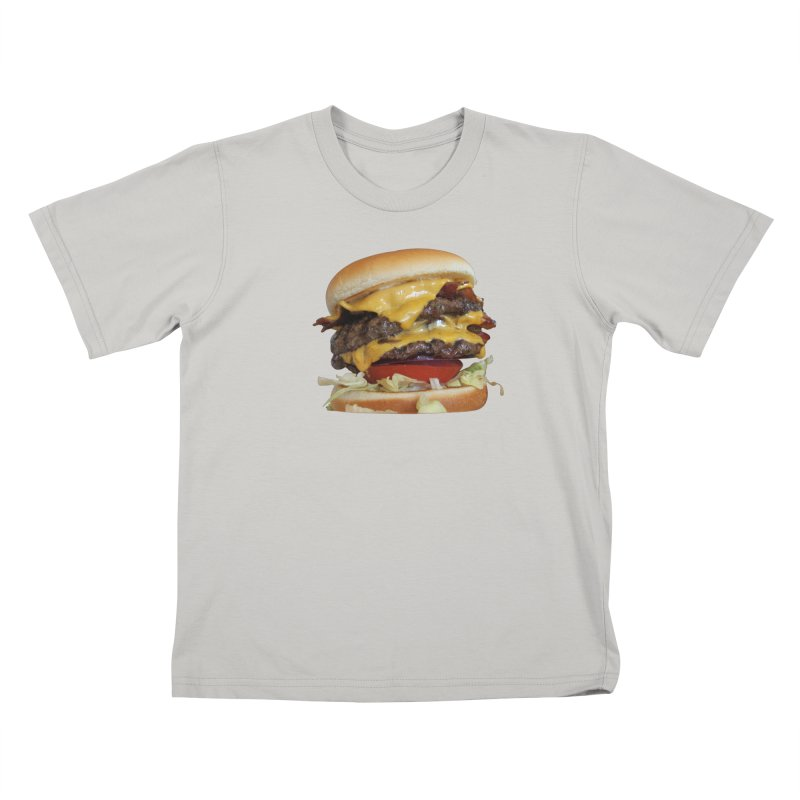 burger city. Kids T-shirt by burgers on t-shirts.