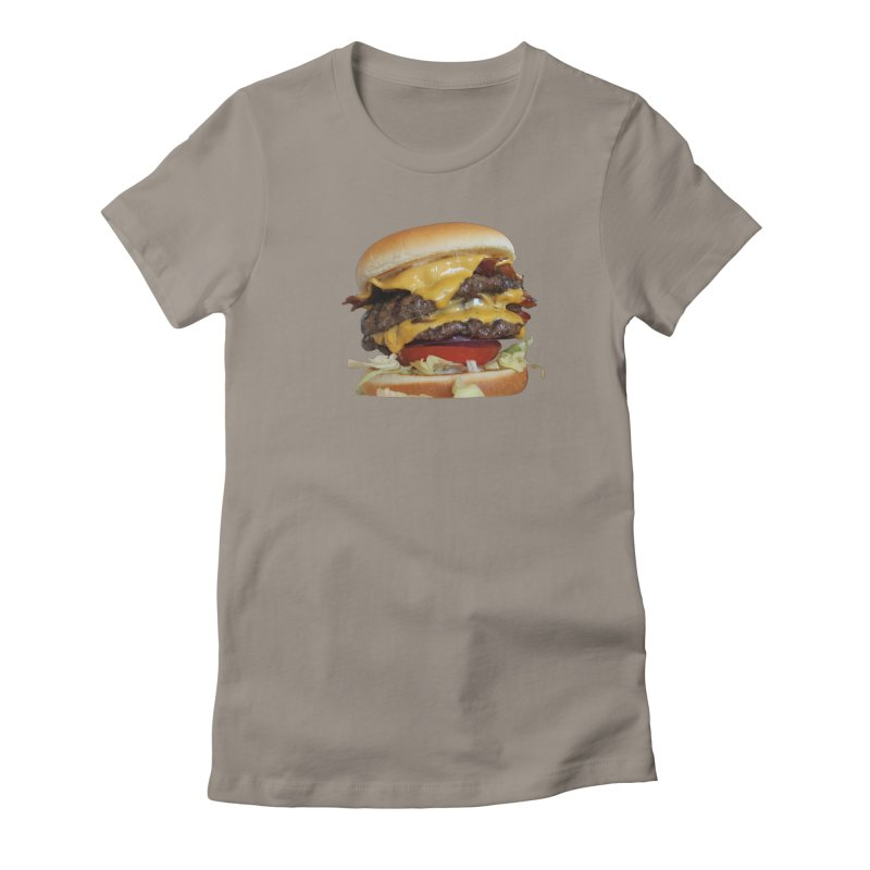 burger city.   by burgers on t-shirts.