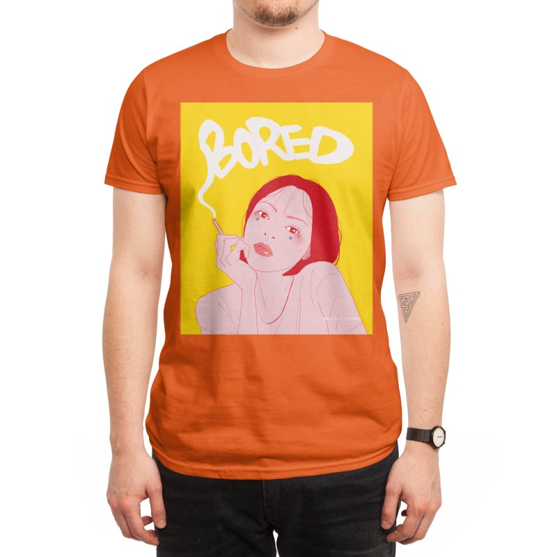 Bored Men's T-Shirt by buriburimonthly's Shop
