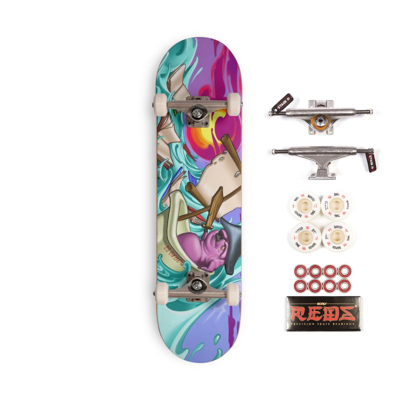 Mural-Skateboard Accessories Complete - Pro Skateboard by Ben Licata's Artist Shop