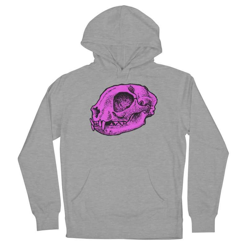 Pink Kitty Skull Men's Pullover Hoody by Ben Licata's Artist Shop