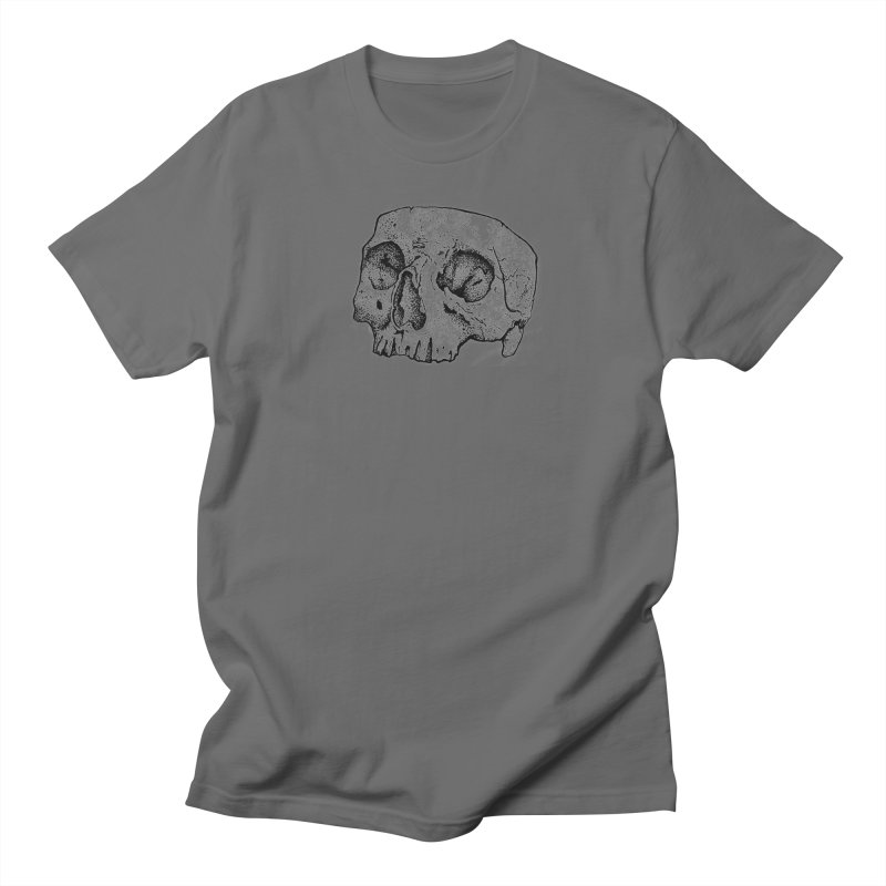 Cut Skull Men's T-shirt by Ben Licata's Artist Shop