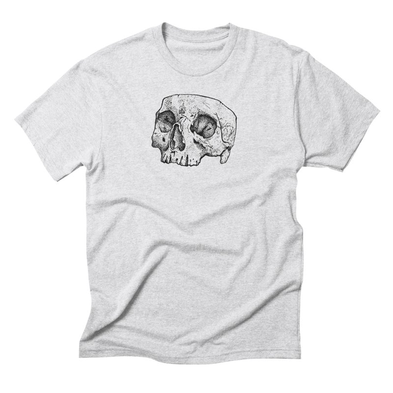 Cut Skull Men's Triblend T-shirt by Ben Licata's Artist Shop