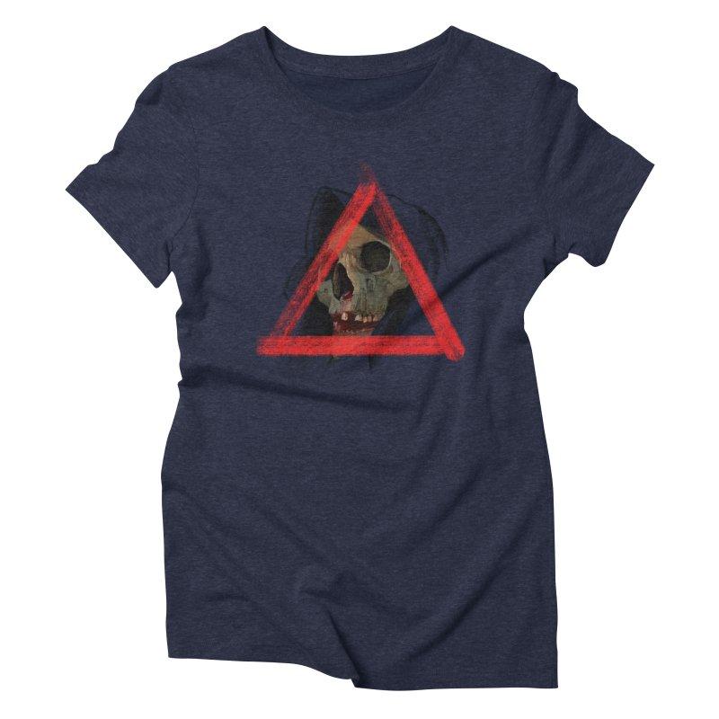 Nigredo Women's Triblend T-Shirt by Ben Licata's Artist Shop