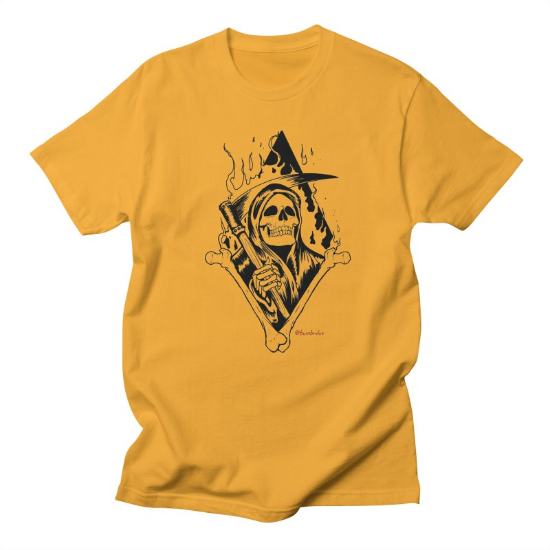 Flaming Reaper Women's T-Shirt by Ben Licata's Artist Shop