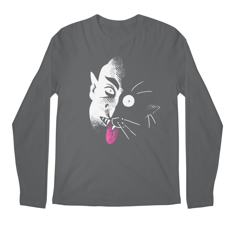 Nosferacute Men's Longsleeve T-Shirt by Burrito Goblin