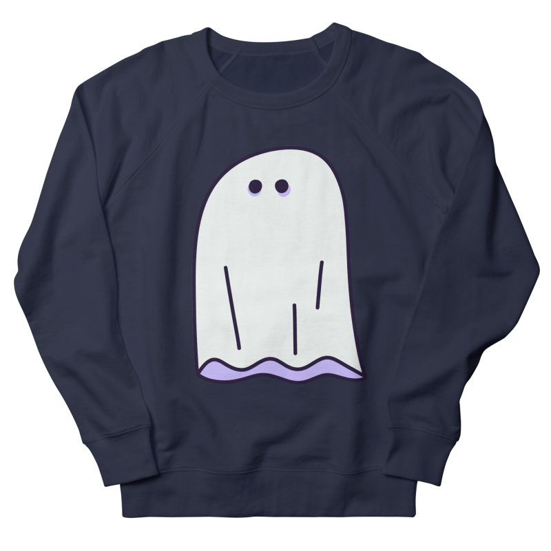 LE SHEET BON BOO Women's French Terry Sweatshirt by Burrito Goblin