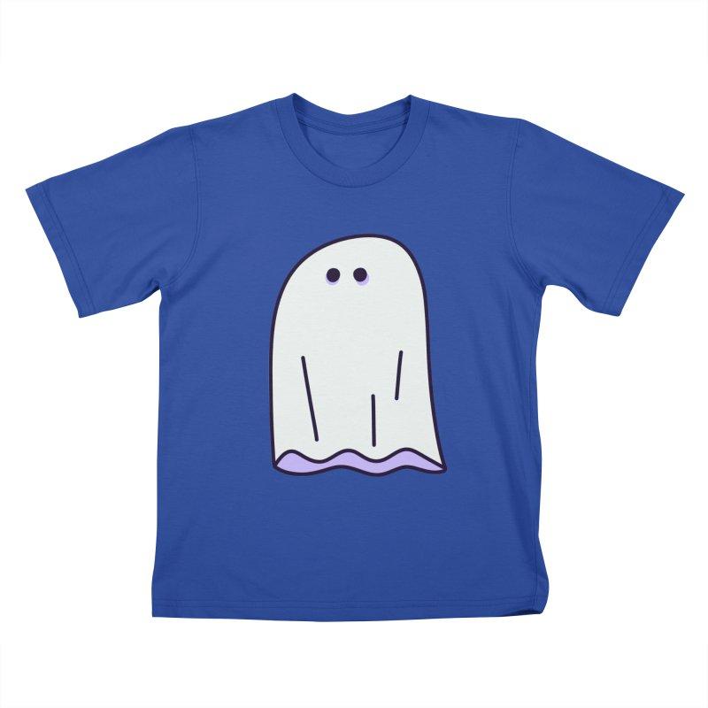 LE SHEET BON BOO Kids T-Shirt by Burrito Goblin