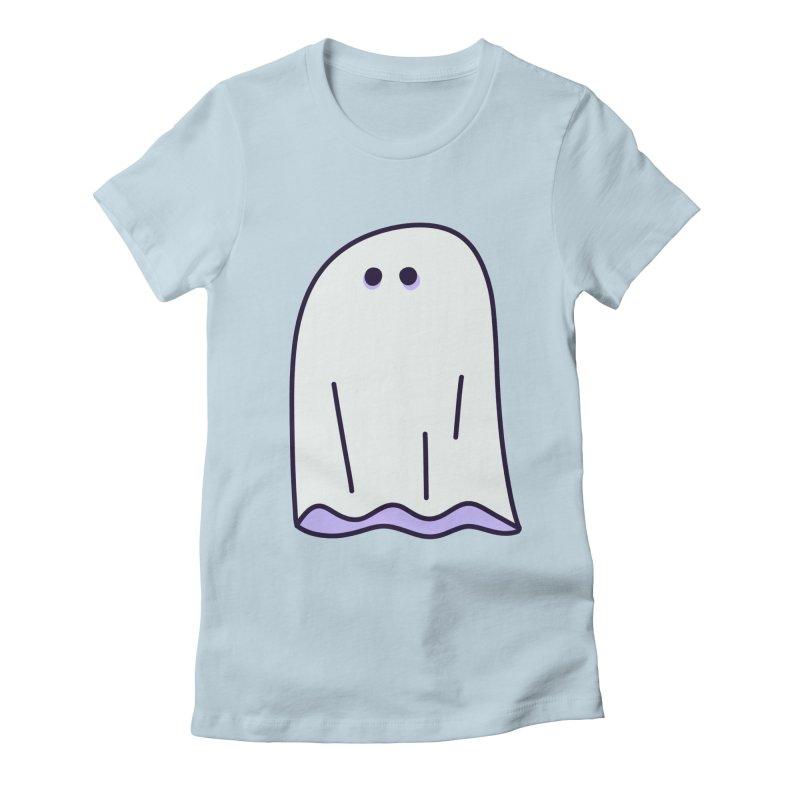LE SHEET BON BOO Women's Fitted T-Shirt by Burrito Goblin