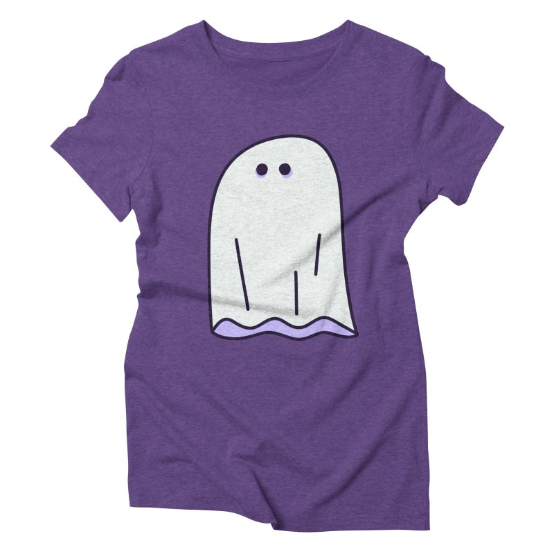 LE SHEET BON BOO Women's Triblend T-Shirt by Burrito Goblin