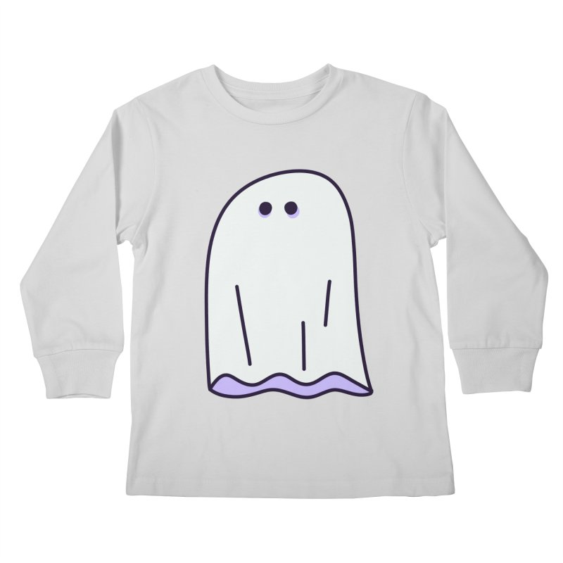 LE SHEET BON BOO Kids Longsleeve T-Shirt by Burrito Goblin