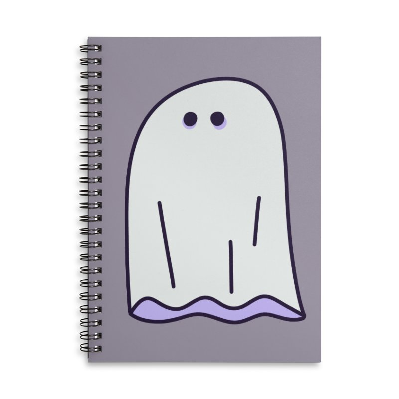 LE SHEET BON BOO Accessories Notebook by Burrito Goblin