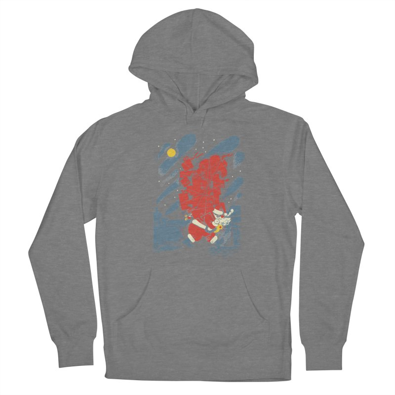 List Checking Women's French Terry Pullover Hoody by Burrito Goblin
