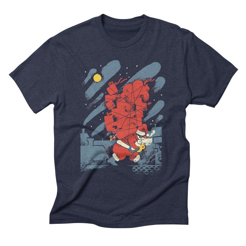 List Checking Men's Triblend T-Shirt by Burrito Goblin
