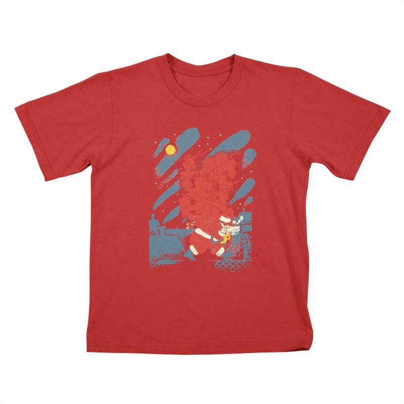 List Checking Kids T-Shirt by Burrito Goblin