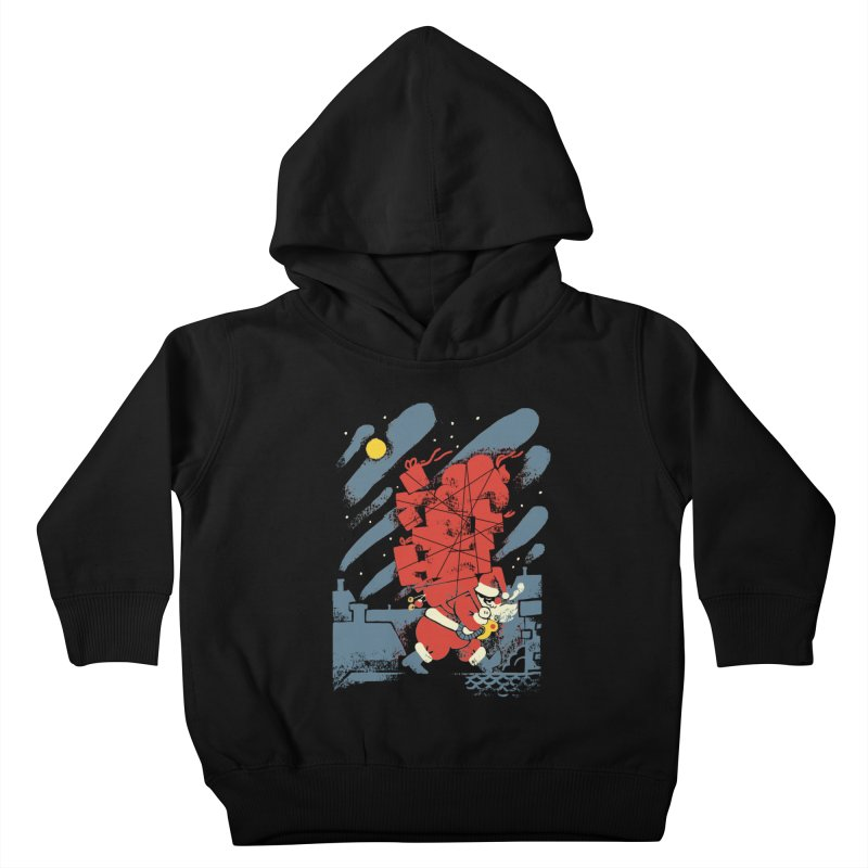 List Checking Kids Toddler Pullover Hoody by Burrito Goblin