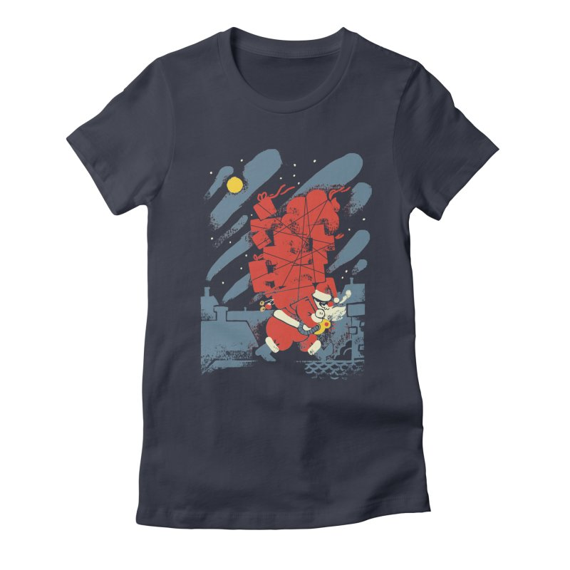 List Checking Women's Fitted T-Shirt by Burrito Goblin
