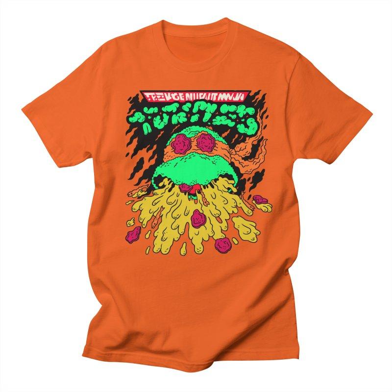 Barfabunga - Orange Men's T-Shirt by Burrito Goblin