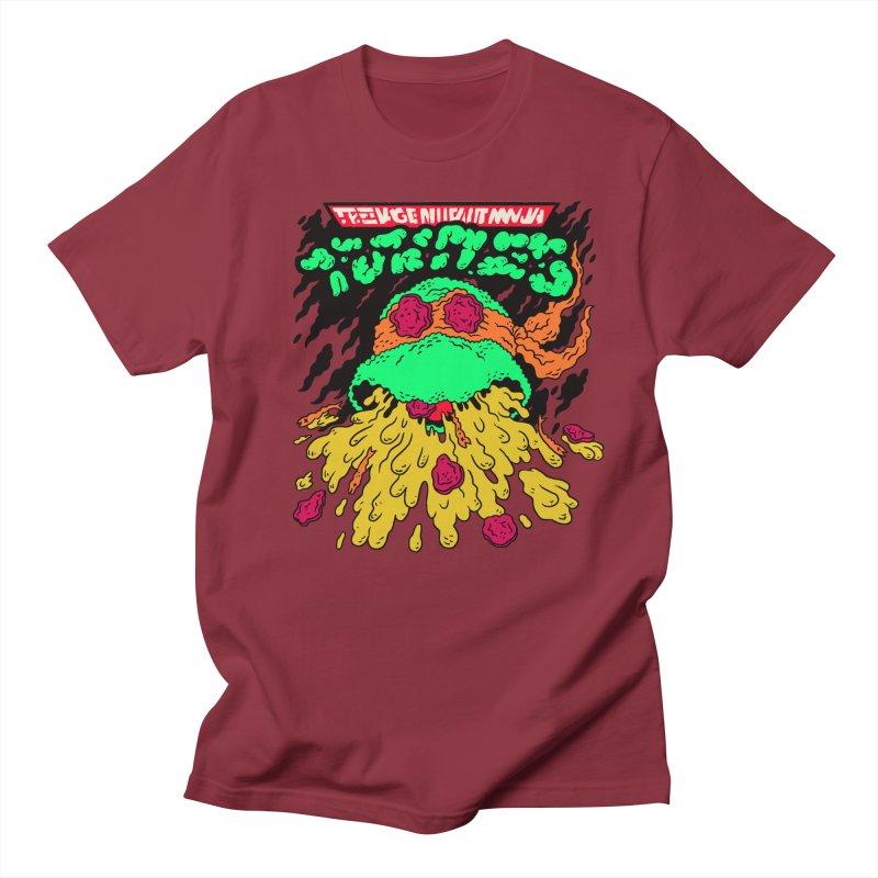 Barfabunga - Orange Men's Regular T-Shirt by Burrito Goblin