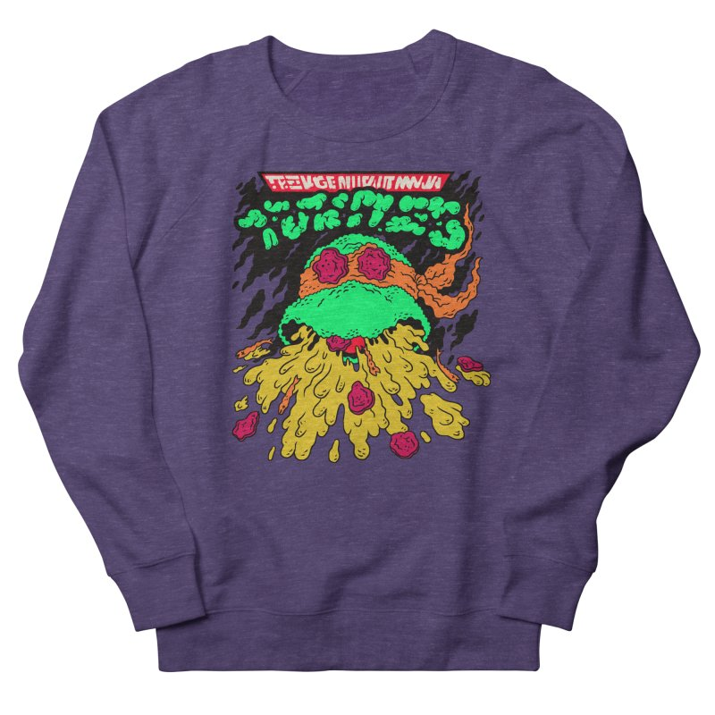 Barfabunga - Orange Men's Sweatshirt by Burrito Goblin