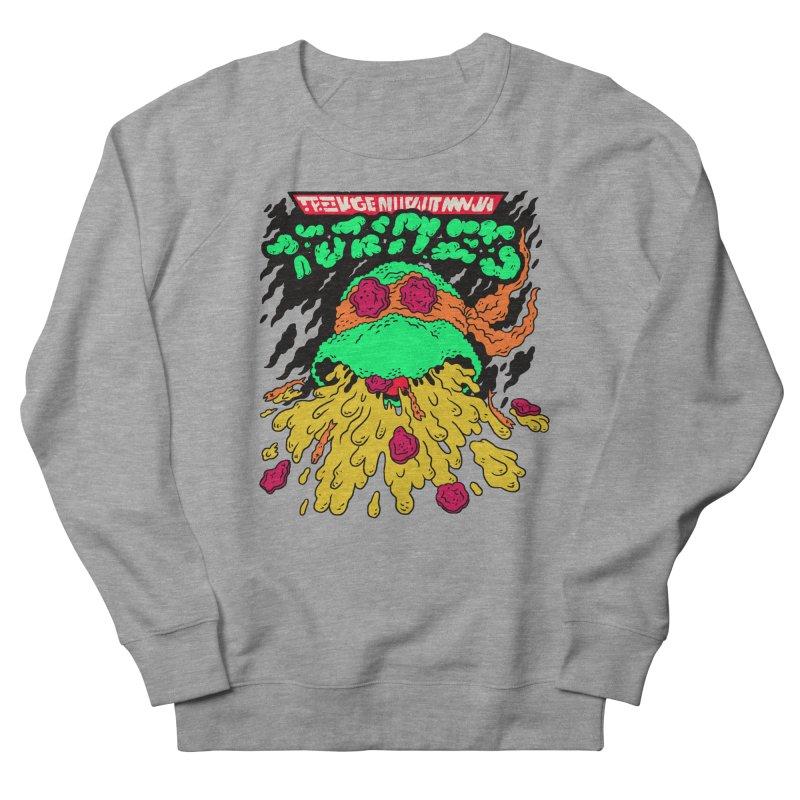 Barfabunga - Orange Men's French Terry Sweatshirt by Burrito Goblin