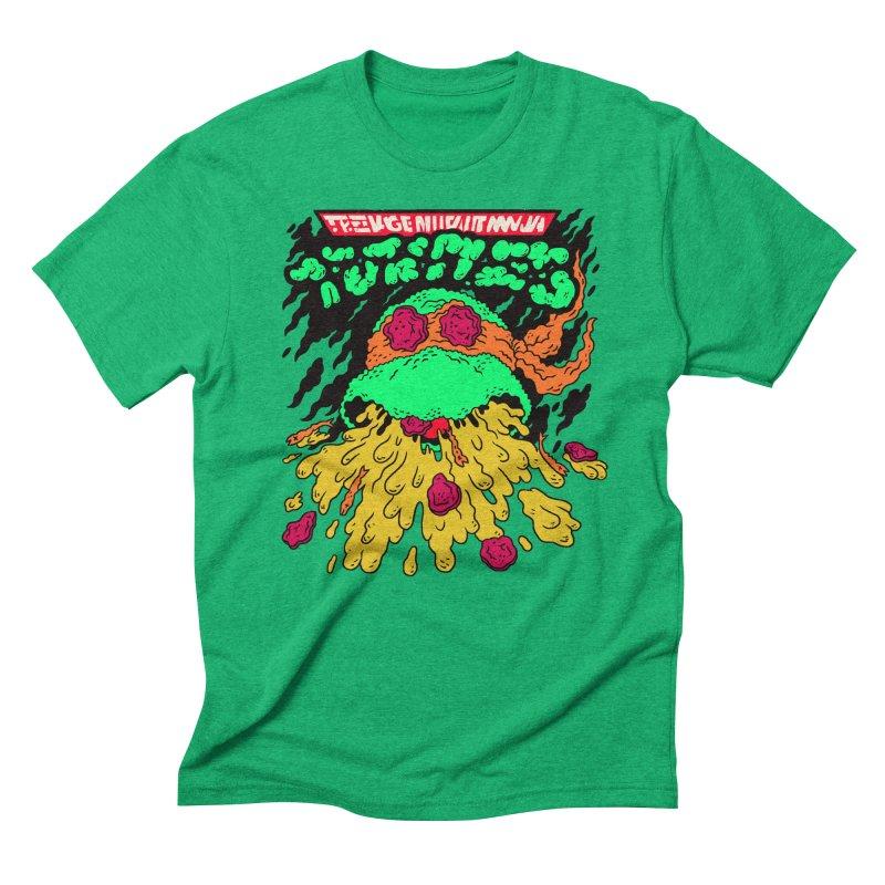 Barfabunga - Orange Men's Triblend T-Shirt by Burrito Goblin