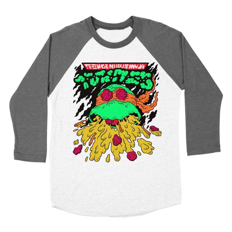 Barfabunga - Orange Women's Baseball Triblend T-Shirt by Burrito Goblin