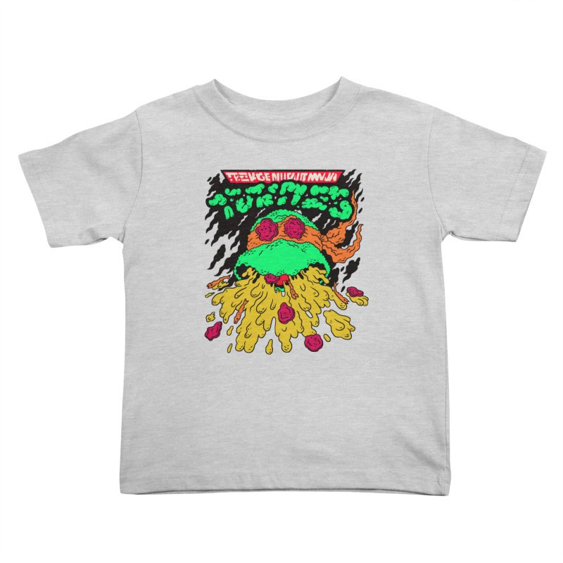 Barfabunga - Orange Kids Toddler T-Shirt by Burrito Goblin