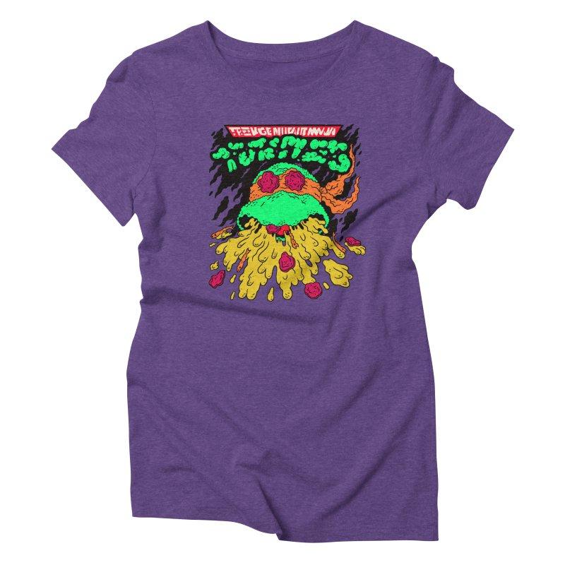 Barfabunga - Orange Women's T-Shirt by Burrito Goblin