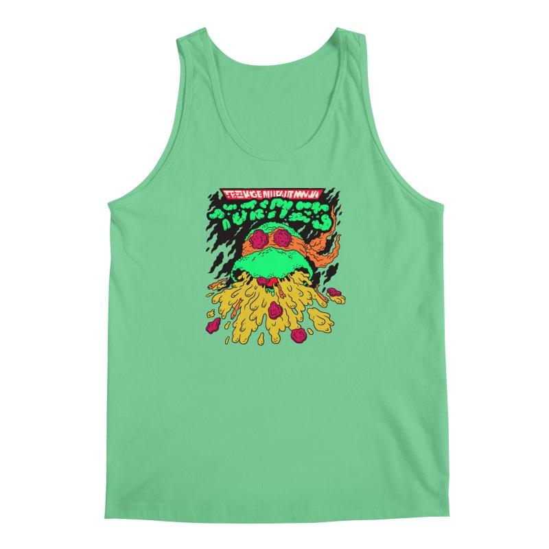 Barfabunga - Orange Men's Regular Tank by Burrito Goblin