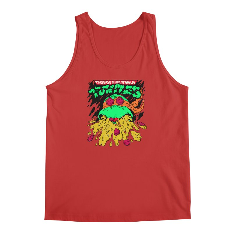 Barfabunga - Orange Men's Regular Tank by Burrito Goblin