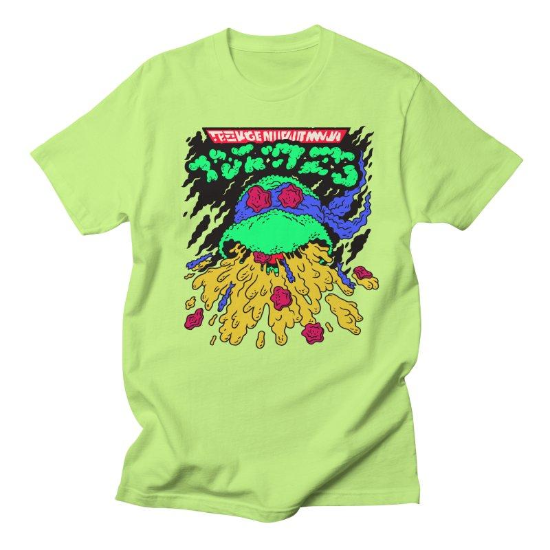 Barfabunga - Blue Men's Regular T-Shirt by Burrito Goblin
