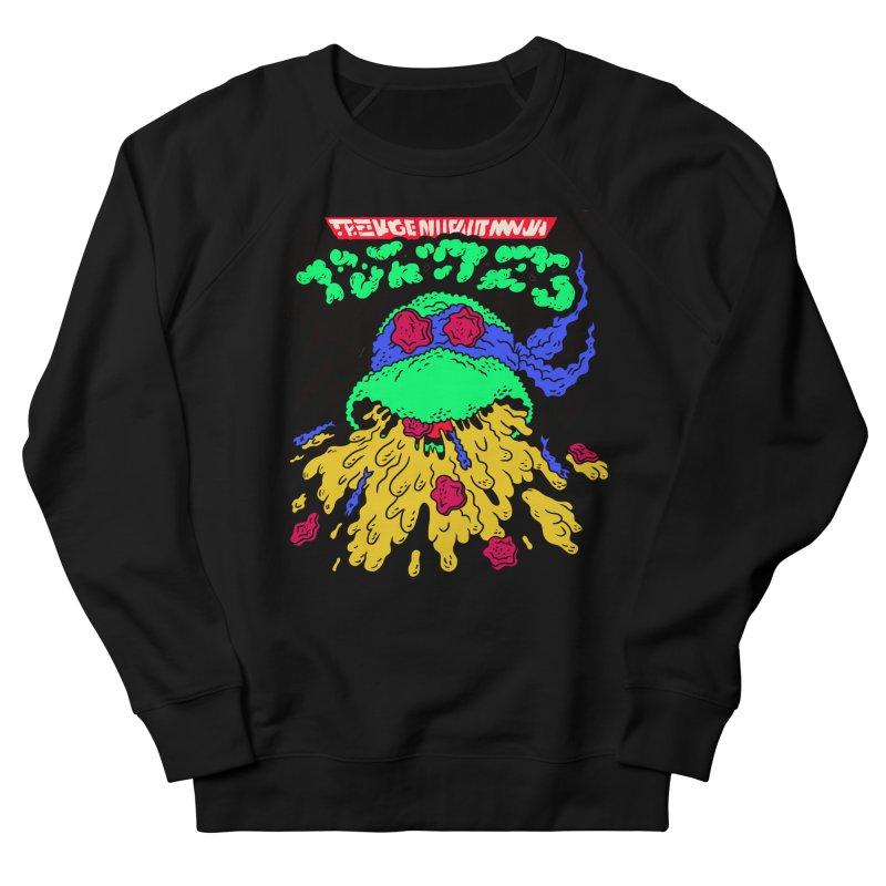 Barfabunga - Blue Men's French Terry Sweatshirt by Burrito Goblin