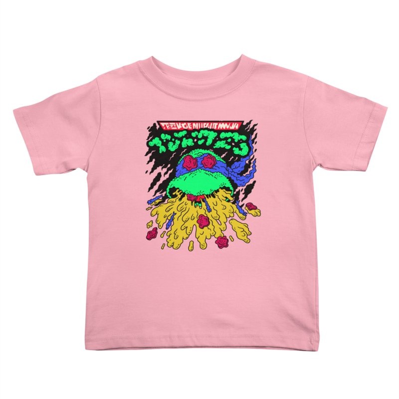 Barfabunga - Blue Kids Toddler T-Shirt by Burrito Goblin