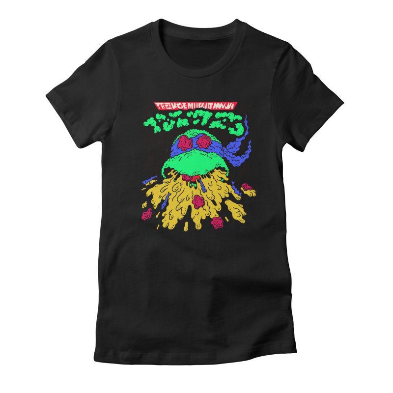 Barfabunga - Blue Women's T-Shirt by Burrito Goblin
