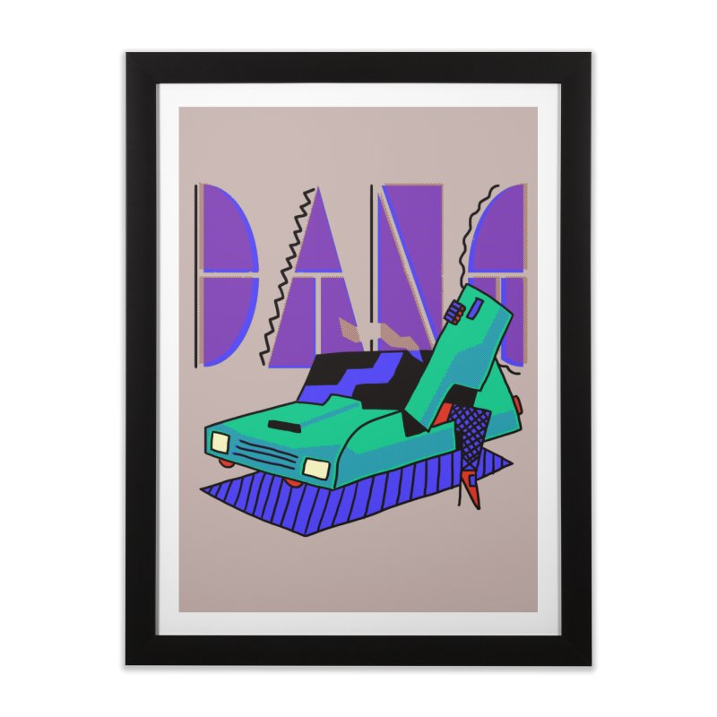 Dang Home Framed Fine Art Print by Burrito Goblin