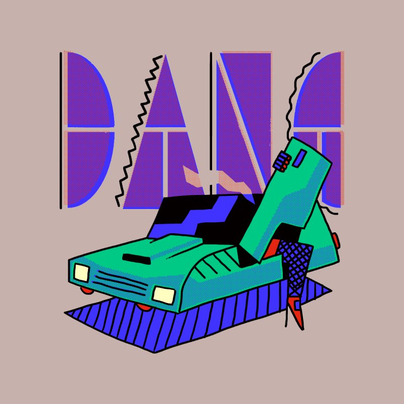 Dang Home Stretched Canvas by Burrito Goblin
