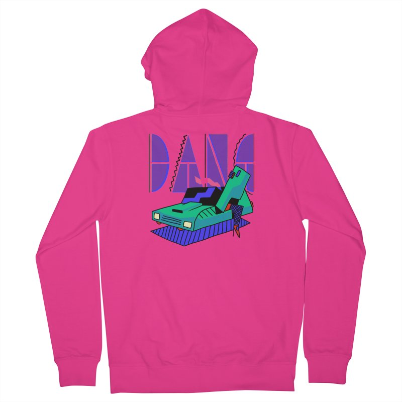 Dang Men's Zip-Up Hoody by Burrito Goblin