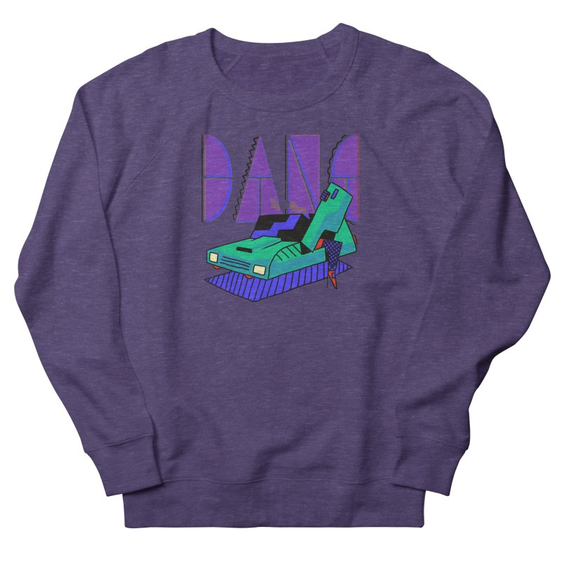 Dang Women's French Terry Sweatshirt by Burrito Goblin