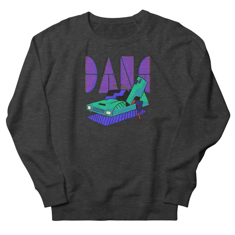 Dang Men's French Terry Sweatshirt by Burrito Goblin
