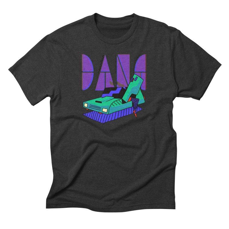 Dang Men's Triblend T-Shirt by Burrito Goblin