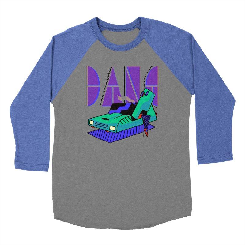Dang Women's Baseball Triblend Longsleeve T-Shirt by Burrito Goblin