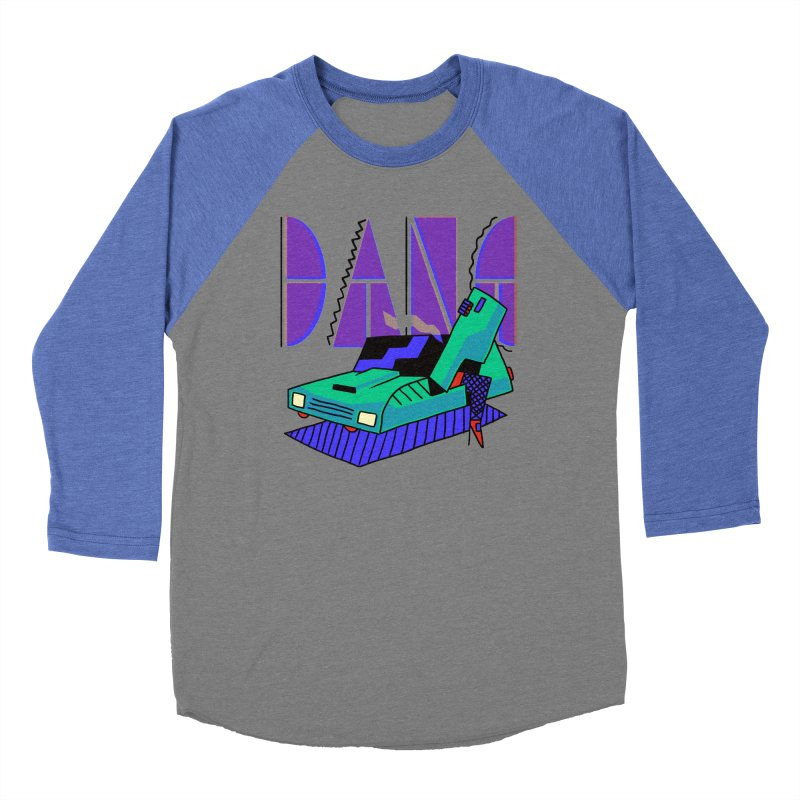 Dang Men's Baseball Triblend T-Shirt by Burrito Goblin