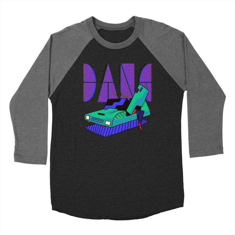 Dang Men's Baseball Triblend Longsleeve T-Shirt by Burrito Goblin